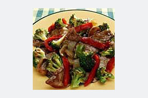 Quick Beef & Vegetable Stir-Fry
