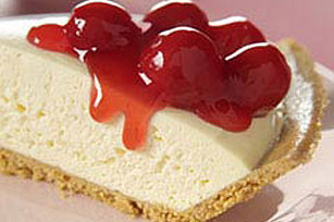 Quick Cherry Cheesecake Image 1