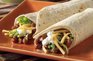 Quick Chili Wrap Image 1