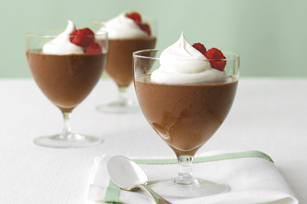Mousse de doble chocolate