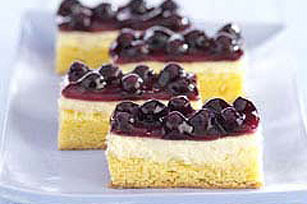 Cream Cheese-Lemon-Blueberry Bars Recipe