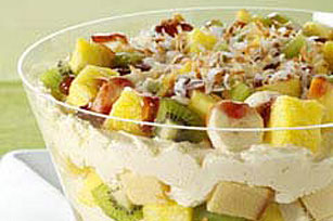 Quick Tropical Cheesecake Trifle Image 1