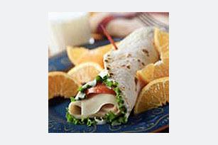 Quick Turkey Wrap Sandwich  Image 1