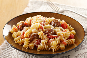 Quick Four Cheese-Sausage Rotini