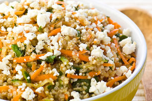 Quinoa with Feta & Vegetables Image 1