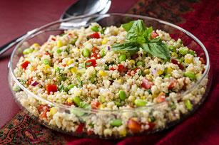 Quinoa Succotash Salad