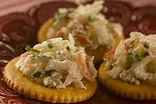 RITZ Cheesy-Crab Topper Image 1