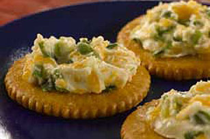 RITZ Hot Cheese Snacks Image 1