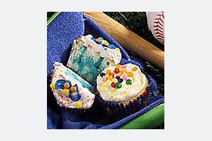 Raindrop Poke Cupcakes