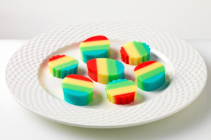 Reduced-Sugar Rainbow JIGGLERS Image 1