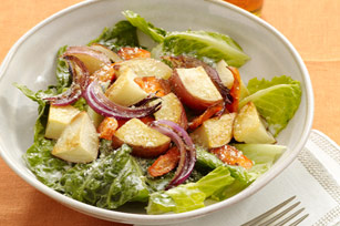 Ranch Salad with Roasted Vegetables