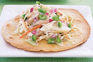 Ranch-Style Fish Tostada