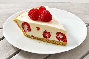 Raspberry-Lemonade Pie Image 1