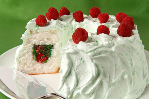 Raspberry-Lime Secret Tunnel Cake