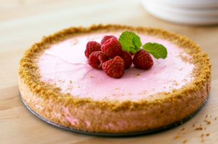 Raspberry Souffle Cheesecake Image 1