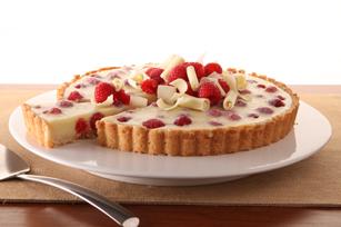 Raspberry Velvet Tart