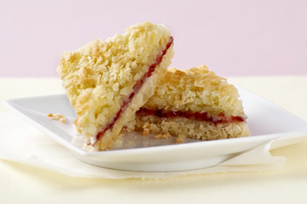 BAKER'S ONE BOWL Raspberry-Coconut Bars Image 1