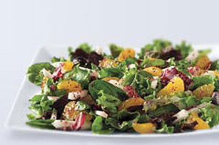 Raspberry Vinaigrette & Orange Salad