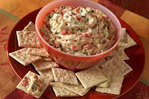 Red Pepper Cheese Dip Image 1