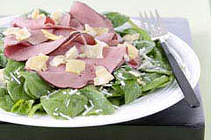 Refreshing Spinach & Beef Salad
