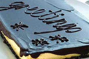 Cheesecake con chocolate, nueces y coco Image 1