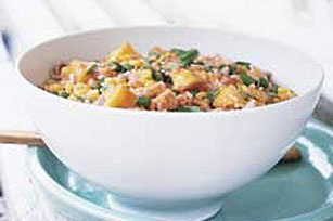 Rice n Peach Salad Image 1