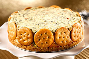 RITZ Spinach-Cheese Torte