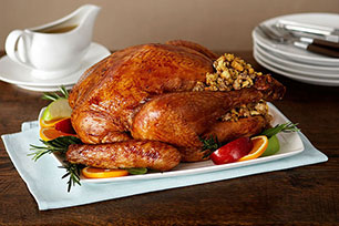 Roast Turkey with Sausage Stuffing