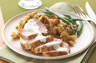 Roast Pork Tenderloin Supper