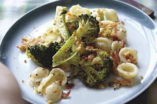 Roasted Broccoli with Orecchiette