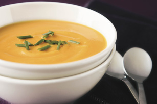 Roasted Sweet Potato & Garlic Soup Image 1
