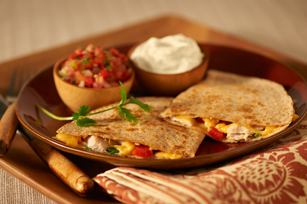 Roasted Turkey Quesadilla