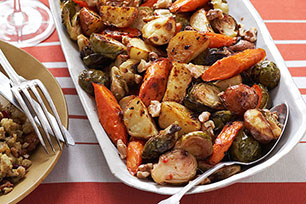 Roasted Winter Vegetable Trio Image 1