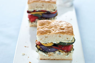 Roasted Veggie Sammy Image 1