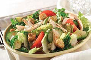 Roasted Red Pepper Chicken and Avocado Salad Image 1