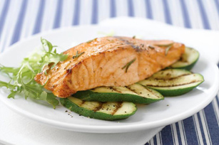 Rosemary Barbecued Salmon Fillet