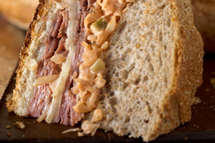 Russian Reuben in the Round Image 1