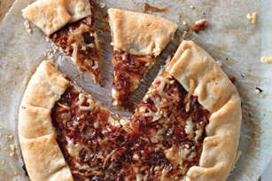 Rustic Caramelized Onion Tart Image 1