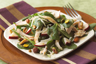 Rustic Spinach Salad