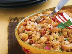 STOVE TOP Holiday Stuffing with Apples & Toasted  Pecans