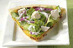 Salad-Topped Pizza Image 1