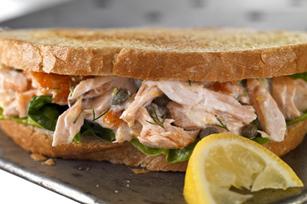 Salmon Sandwich Image 1