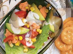 Salmon and Potato Salad Image 1