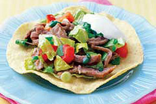 Beef Salpicon Wraps - Kraft Recipes