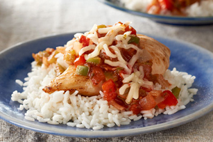 Salsa-Chicken and Rice Recipe Image 1