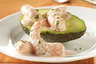 Salsa-Shrimp Topped Avocados Image 1