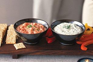 Dip de salsa y camarones Image 1