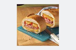 Sándwich relleno con queso Image 1