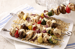 Spicy Chicken & Vegetable Kabobs Image 1