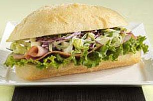 Sassy Ham & Apple Coleslaw Sandwich Image 1